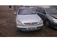 2002 CITROEN XSARA, 2LT DIESEL, BREAKING FOR PARTS ONLY, POSTAGE AVAILABLE NATIONWIDE