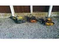 Joblot concrete stone petrol cut off saws Partner not Stihl