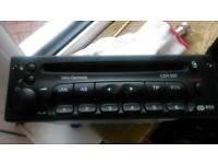 Vauxhall cd genuine stereo excellent from zafira 1999 to 2005