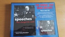 Book with CD - Speeches that changed the world
