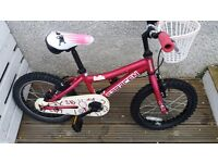 Kids Saracen bike