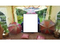 Like New Garden Marquee For Sale