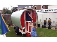 Outdoor Children's & Adult Romany / Gypsy 8ft Caravan