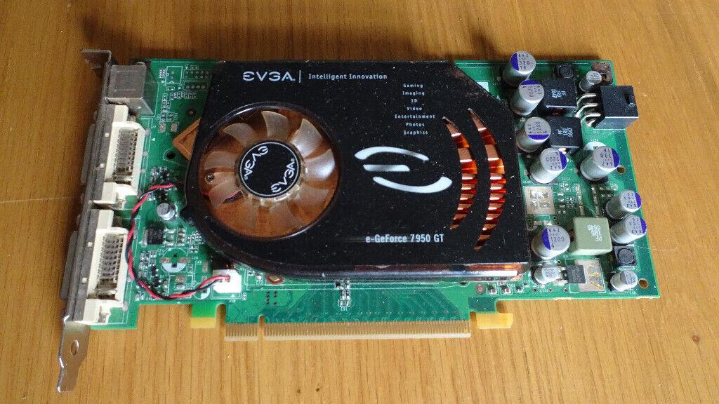 EVGA Geforce 7950GT 512Mb PCI E Graphics Card