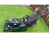 "Hayter harrier 56 pro 22"" professional petrol lawnmower"