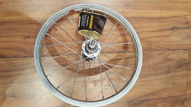 """16"""" Rear bike wheel for 1.75 tyres (Suitable for foldable bikes)"""
