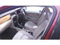Jaguar x type diesel , Rare chery mettallic red