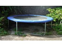 8 ft trampoline good condition