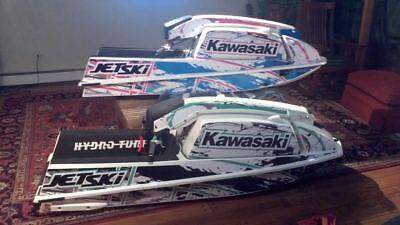 kawasaki 550 sx jet ski wrap graphics pwc stand up jetski decal sticker blue for sale  Shipping to South Africa