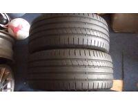 255 35 19 Dunlop SP Sport Maxx Tyres x3 T4 T5 AUDI BMW MERCEDES