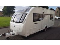 Sterling Cruach Ben More 2012/ 4 berth fixed bed fully loaded mover awning
