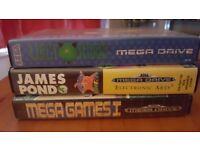 3 Sega MegaDrive Games