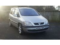 2004 VAUXHALL ZAFIRA 2.0 DIESEL *ONLY 91,000 Miles*7-seater*