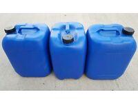 20L Plastic liquid jars, drums - 1000L IBC tanks, containers, cubes for sale