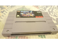 snes usa game cart gunforce