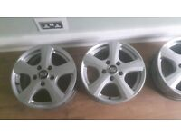 """MSW by Oz alloy wheels. 16"""" brilliant condition"""