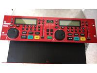 Kam KCD1000 Professional DJ CD Deck System