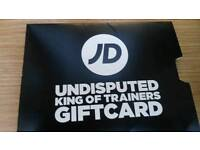 £55 JD Giftcard