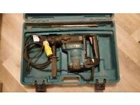 £199 ONO Makita HR4500C Rotary Demolition Hammer Drill SDS Max 240 V Free Transformer