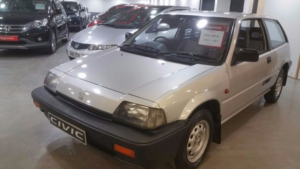 1987 Honda Civic At 3g 3 Door Hatchback 13 Carb Classic In East