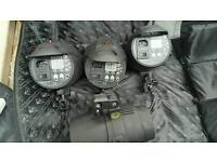 4x 400w Studio Strobes with Stands and more