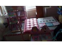 Girls Bedroom Furniture/Accessories