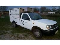 Nissan d22 jiffy van truck catering hot and cold food