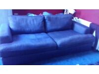 3 seater Sofa Denim from Harveys it was 1,200.