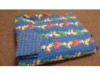 Cot Bed Duvet, Duvet cover and sheets