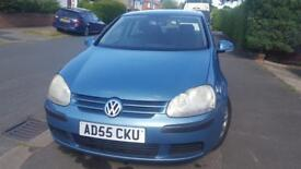 VolkswagenGolf 1.4S 2005 5dr Mileage-78,000