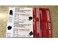 2 x Eminem Tickets Sunday 15th July Twickenham Stadium