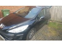 Peugeot 308 1.6 hdi £30 a yr tax low mileage
