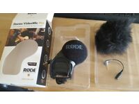 Mic Rode Stereo VideoMic Pro