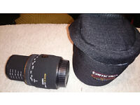 Sigma 50mm 1:2.8 EX DG MACRO Lens with case for Canon DSLR
