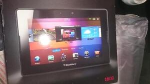 BlackBerry PlayBook, like new, in the box, case and keyboard