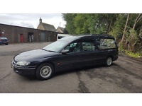 Funeral Fleet Hearse 2 x Limousine Omega Vauxhall MOT'd 06/2017 Private Plate