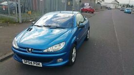 2004 Peugeot 206 CC 1.6 Allure Coupe Convertible Manual - MOT Sept 2017 - 72202 Miles