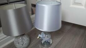 2 lamps good condition