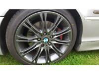 Bmw mv2 alloy wheels grey