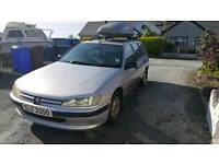 Cheap diesel estate Peugeot 406 roof box included