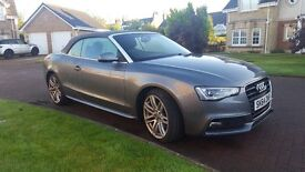 Audi A5 Convertible, 1 owner low mileage