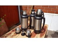 Aladdin Challenger 1.8ltr Stainless Steel Flask x3