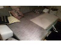 Corner sofa - storage and sofa bed