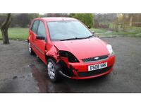 Ford Fiesta, Category S, driveable, repairable.