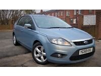 Ford Focus 1.6 TDCI Dpf 5 Door £30 Year Tax 2008(58plate) with Warranty HpI Clear Immaculate FSH