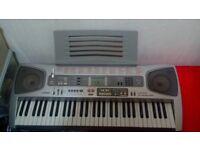 Casio LK-55 61 Key Lightning Keyboard easy for beginner RRP 130 , good working condition Christmas