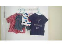 Boy clothes bundle 9-12 months £5