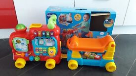 Very good condition - vtech Push and Ride Alphabet Train