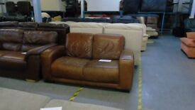 PRE OWNED 2 seater in Brown Leather