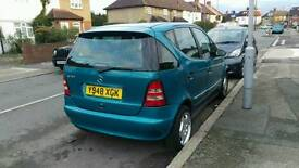 Mercedes A class automatic one year mot 5 door alloy e/w CD player